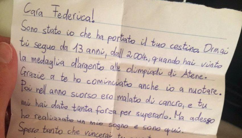 La lettera del fan che ha emozionato Federica Pellegrini