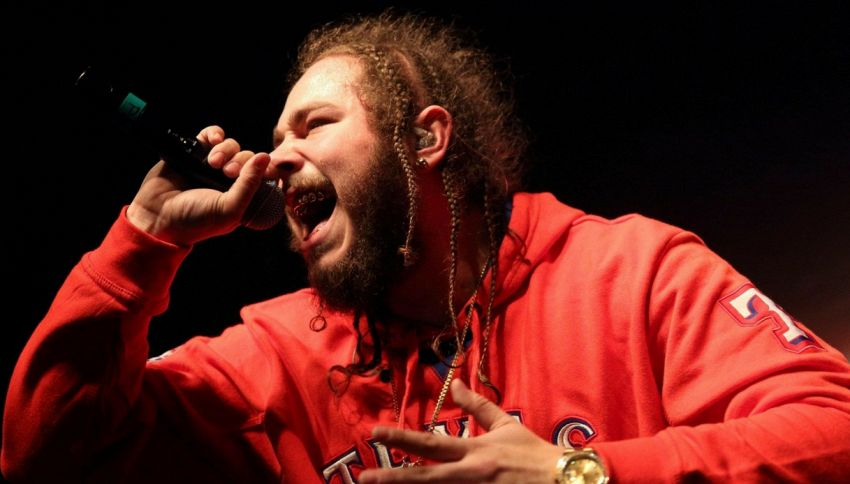 "È uscito ""Beerbongs and Bentleys"", il nuovo album di Post Malone"