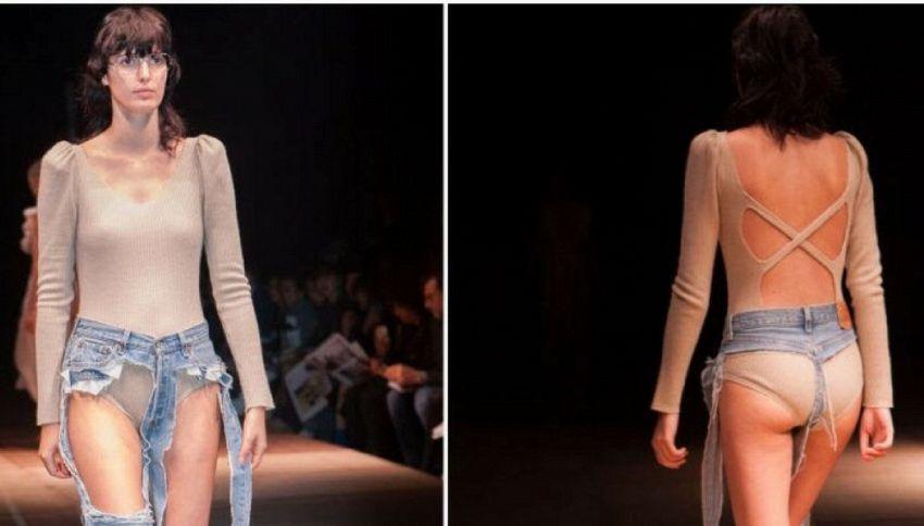 I Thong Jeans sono la nuova moda