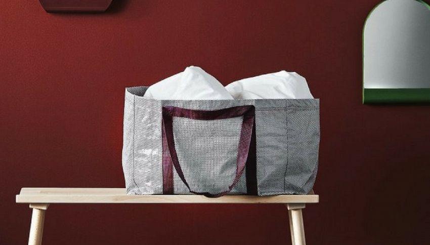 d526757b29 La borsa di Ikea cambia volto. Ecco come sarà la nuova shopping bag del  colosso di arredamento dopo la mitica Frakta