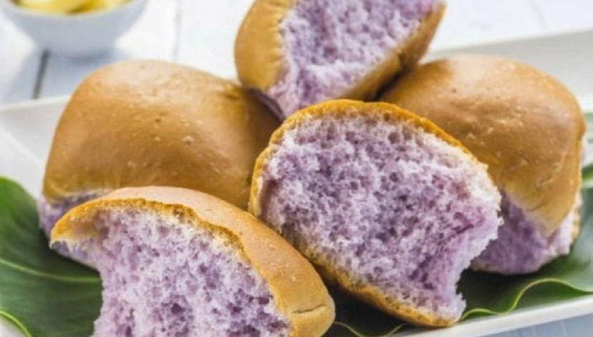 Arriva il super pane viola, più leggero e digeribile