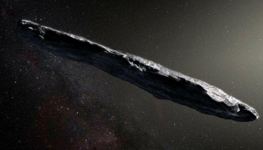 Il mistero dell'asteroide a forma di sigaro. È una nave aliena?
