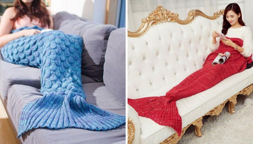 La coperta sirena è il gadget più cool dell'inverno