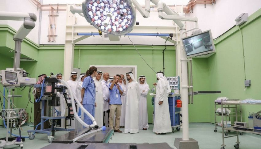 A Dubai arriva l'ospedale riservato ai cammelli