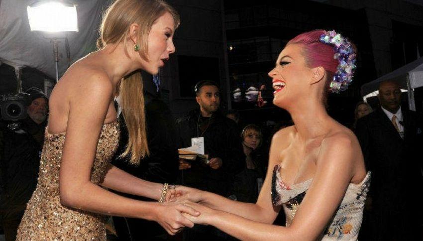 Taylor Swift e Katy Perry hanno fatto pace