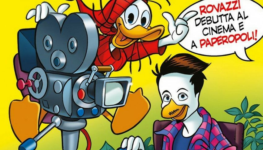 Fabio Rovazzi in versione fumetto diventa Paperazzi
