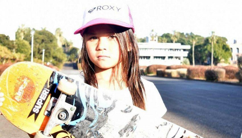 Sky Brown, la skater di 9 anni che punta alle Olimpiadi