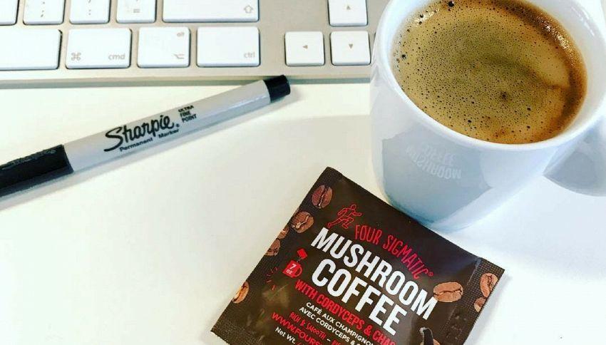 Arriva il caffè ai funghi di cui non potrai più fare a meno