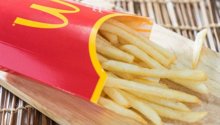 Patatine del McDonald's curano la calvizie. Lo dice la scienza