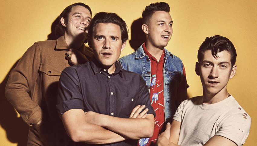 Arctic Monkeys, annunciate due date in Italia