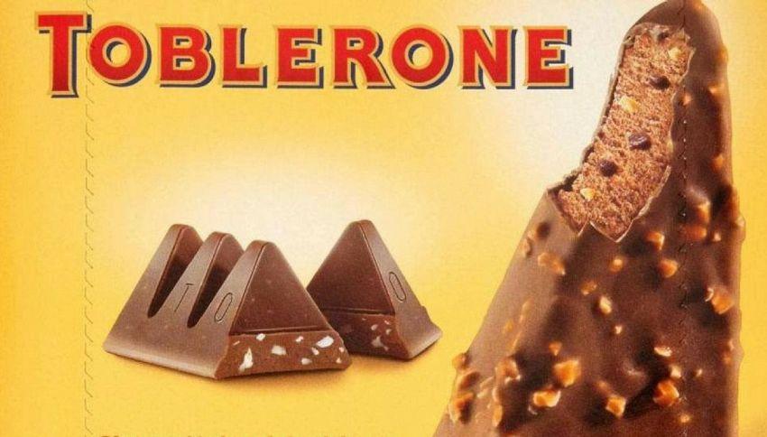 Il Toblerone diventa un gelato e fa impazzire tutti