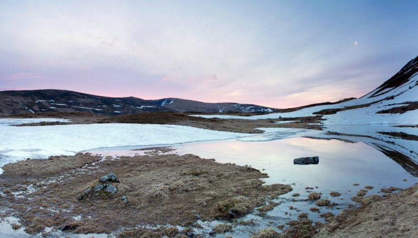 Antiche riserve di carbonio riemergono dai ghiacci dell'Artico
