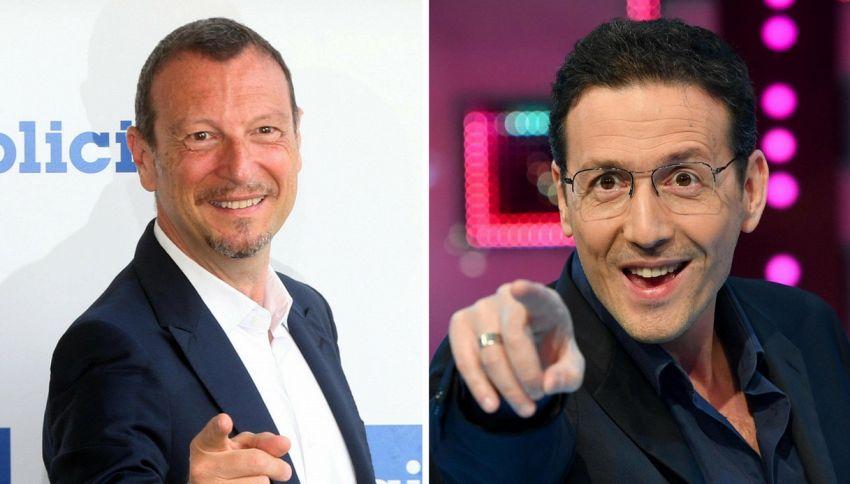 """Amadeus o Alessandro Greco sostituiranno Conti a """"L'Eredità"""""""