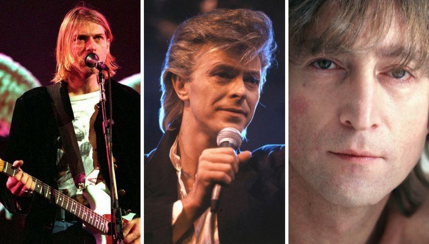 Ecco i font per scrivere come i cantanti Cobain, Bowie e Lennon