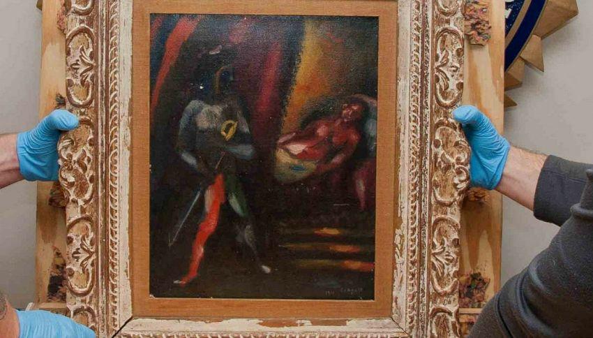Ritrovato uno Chagall rubato a New York 30 anni fa
