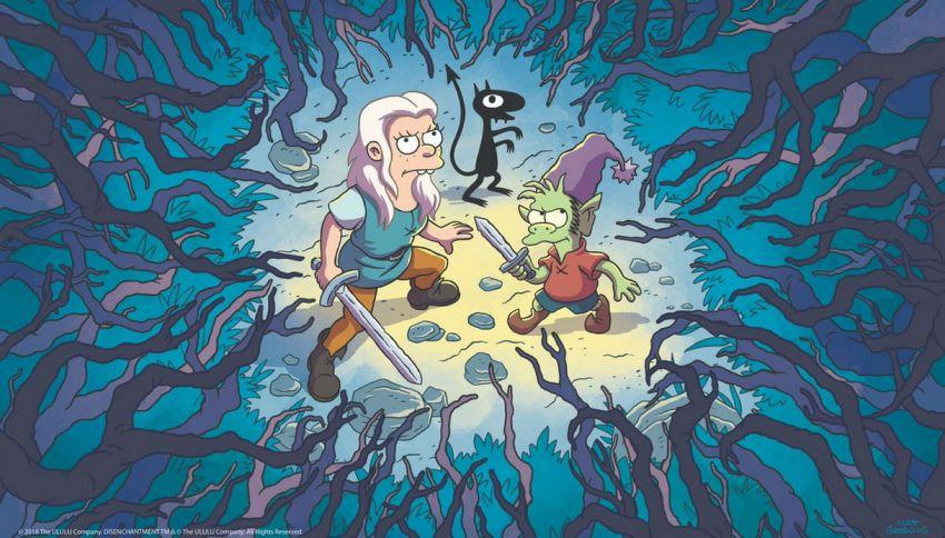 """Cosa sappiamo della serie Netflix """"Disincanto"""" di Matt Groening"""