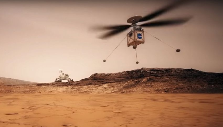 Un elicottero su Marte? La Nasa pensa al futuro