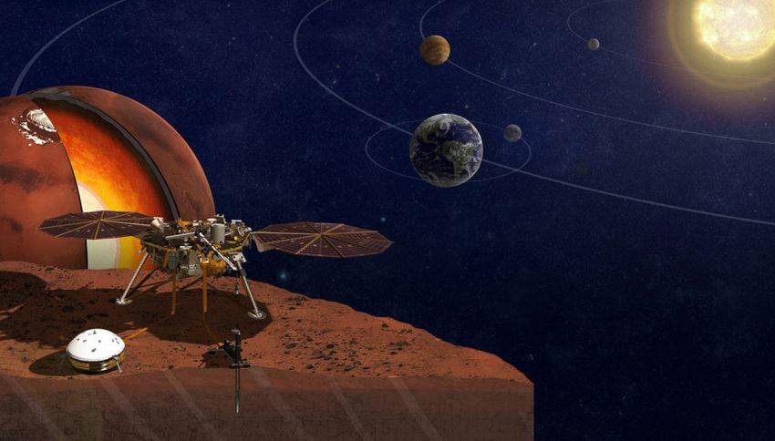 I primi messaggi dei mini satelliti Nasa in viaggio per Marte