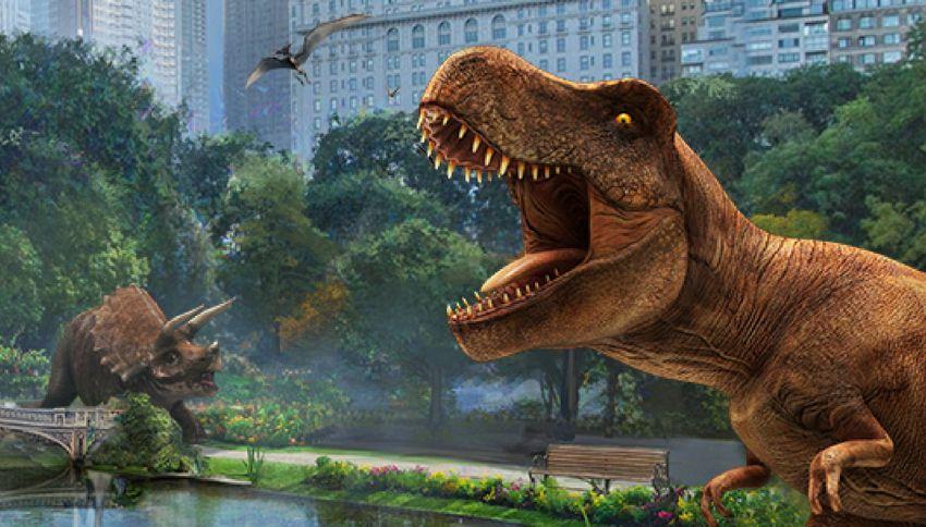 Arriva Jurassic World Alive, il Pokémon Go dei dinosauri