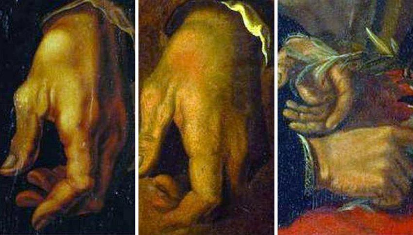 Michelangelo era mancino, ma fingeva di essere destro