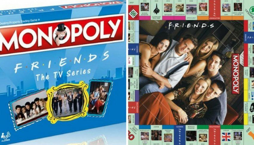 Friends, ecco il Monopoly ispirato alla famosa serie tv