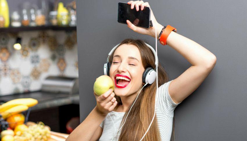 Ecco come la musica influenza la nostra dieta