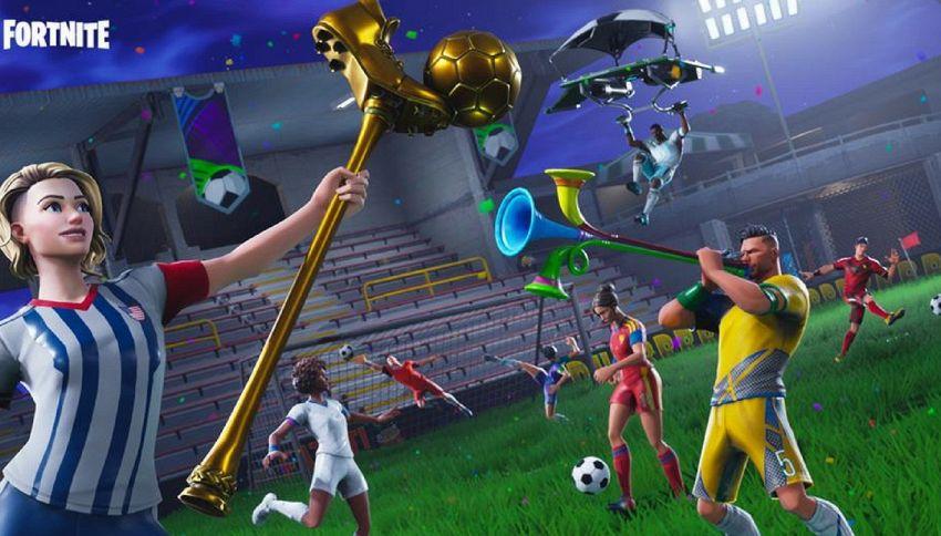 Gli stadi dei Mondiali in Russia arrivano anche su Fortnite
