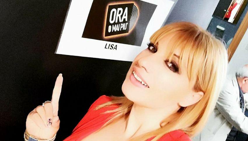 """Chi è Lisa, concorrente di """"Ora o mai più"""""""