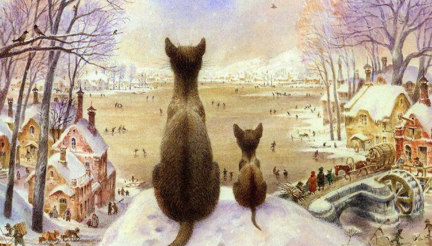 Russia, a San Pietroburgo c'è un artista specializzato in gatti
