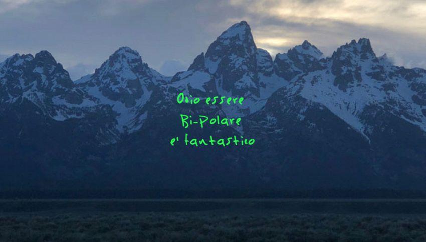 "Kanye West ha creato un generatore di copertine per ""ye"""