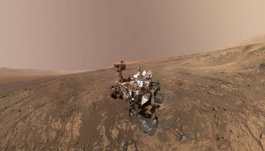 C'è vita su Marte? Scoperte le prime molecole organiche