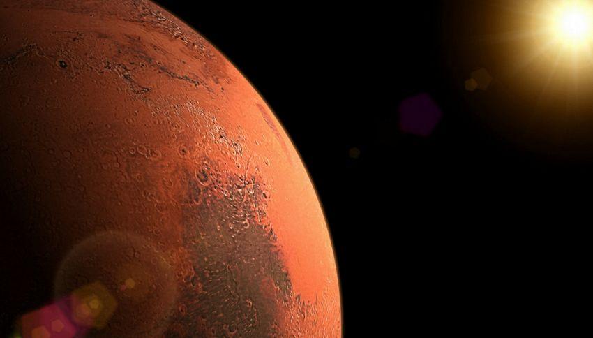 C'è un lago su Marte e si trova sottoterra