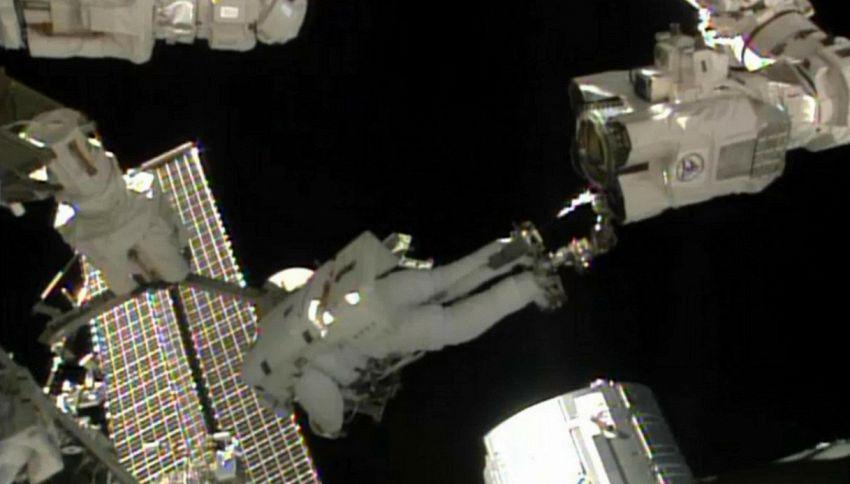 Quella volta che Luca Parmitano rischiò la vita nello spazio