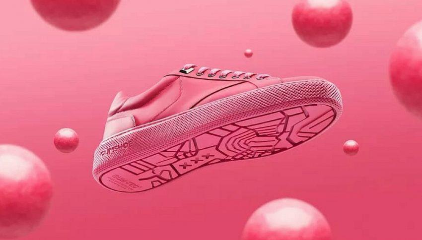In arrivo le gumshoes, le scarpe fatte con le gomme da masticare