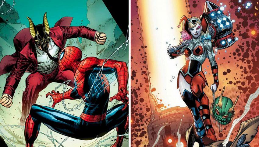 Che differenza c'è tra i supereroi della Marvel e quelli della DC