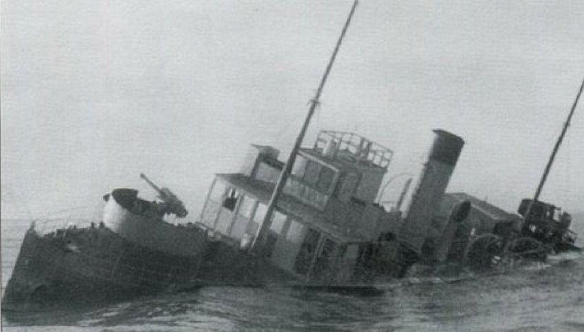 Riappare nel Po la nave fantasma scomparsa più di 70 anni fa