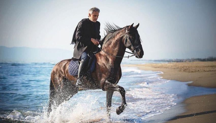Andrea Bocelli ha realizzato il sogno di Tiziano Ferro