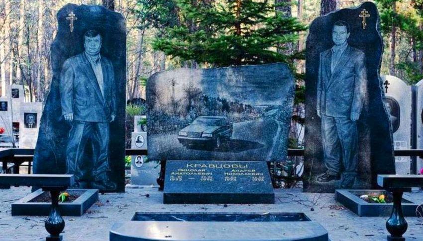 Mosca, l'assoluto kitsch dei cimiteri della mafia russa