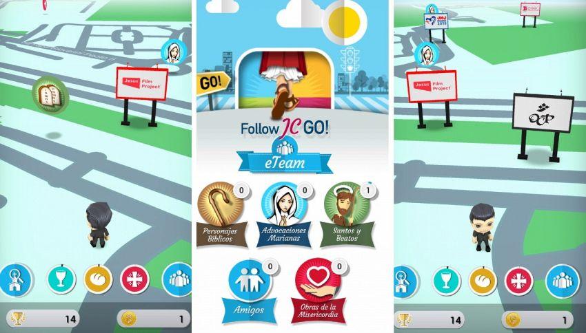 Follow JC, il Pokemon Go dei santi che ha la benedizione del Papa