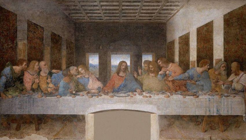Il dietro le quinte dell'Ultima Cena di Leonardo da Vinci