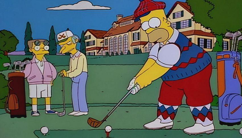 Nuove forme di cleptomania: rubare solo palline da golf