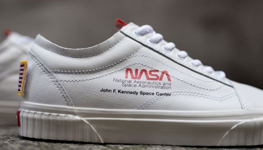 Anche gli astronauti indossano le sneakers