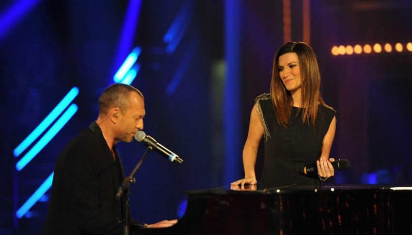 Laura Pausini e Biagio Antonacci sono la nuova coppia del pop