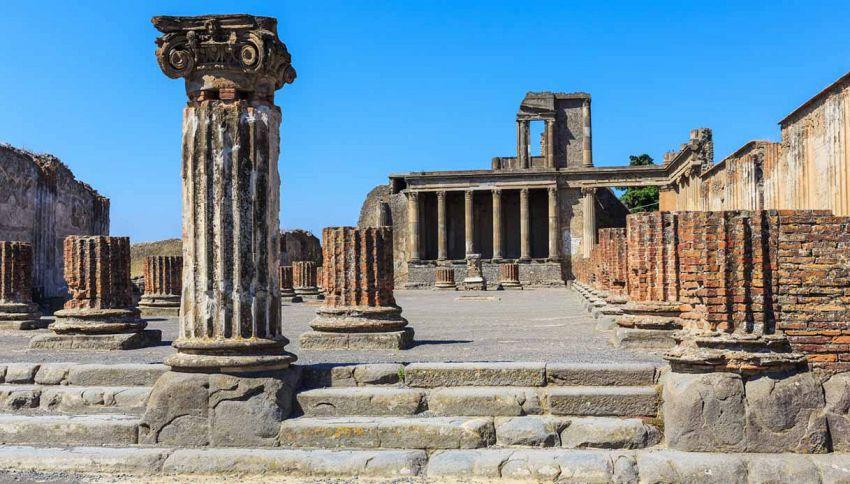 A Pompei è vietato scavare buche