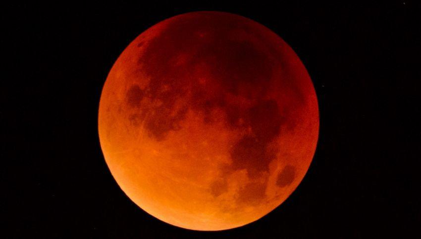 Ecco cosa accadrà durante l'eclissi totale di Luna il 21 gennaio