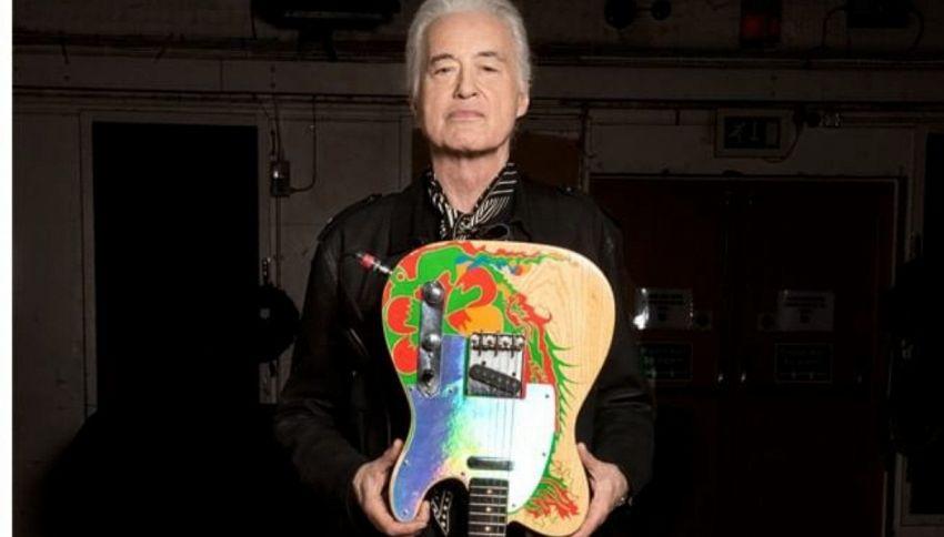 La storia di Dragon, mitica chitarra di Jimmy Page