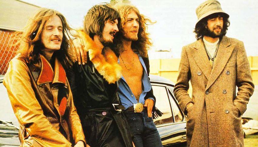 Gli Who, una contessa arrabbiata e il dirigibile dei Led Zeppelin