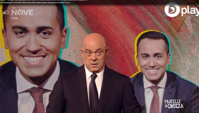 Maurizio Crozza lancia una nuova (esilarante) imitazione