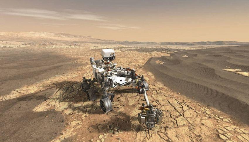 Un giorno forse potremo bere il vino di Marte