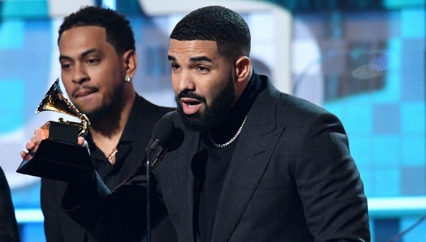 Drake is the new Ultimo: dissa i Grammy in diretta